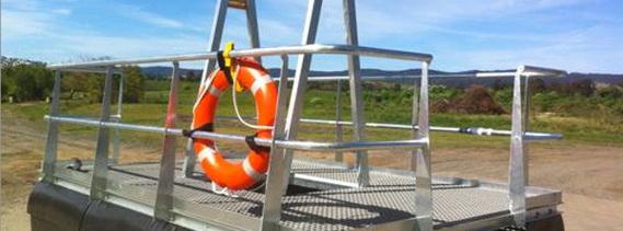 pump pontoon